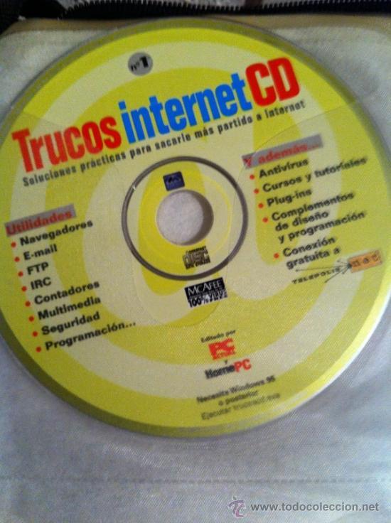 CDROM TRUCOS INTERNET (Juguetes - Videojuegos y Consolas - PC)
