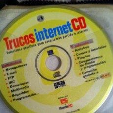 Videojuegos y Consolas: CDROM TRUCOS INTERNET. Lote 31822918