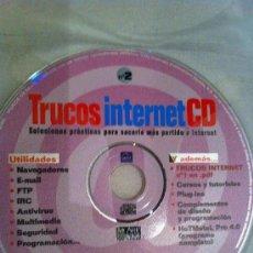 Videojuegos y Consolas: CDROM TRUCOS INTERNET. Lote 31822928