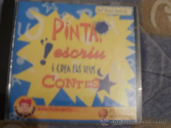 CDROM PINTA ESCRIU I CREA ELS TEUS CONTES (Juguetes - Videojuegos y Consolas - PC)