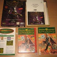 Videojuegos y Consolas: SEVEN KINGDOMS + SEVEN KINGDOMS ANCIENT ADVERSARIES BIG BOX CARTON EDICION ESPAÑA. Lote 32563610