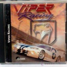 Videojuegos y Consolas: JUEGO PC - VIPER RACING. Lote 32665572