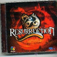Videojuegos y Consolas: RESURRECTION - PC CD ROM VIDEOJUEGO PC. Lote 32684179
