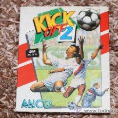 Videojuegos y Consolas: KICK OFF 2 - IBM PC 3 1/2. Lote 32712395