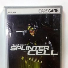 Videojuegos y Consolas: TOM CLANCY'S SPLINTER CELL + 3 MISIONES ADICIONALES. Lote 33124084
