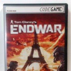 Videojuegos y Consolas: TOM CLANCY'S ENDWAR - TOTALMENTE EN CASTELLANO. Lote 33125658