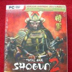 Videojuegos y Consolas: SHOGUN 2 TOTAL WAR EDICION LIMITADA + PELICULA - PARA PC - PAL ESPAÑA - NUEVO Y PRECINTADO. Lote 33461264