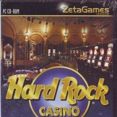 Videojuegos y Consolas: HARD ROCK JUEGOS DE CASINO PC ZETA GAMES BACARRA DADOS BLACKJACK RULETA VIDEO POQUER TRAGAPERRAS . Lote 33544852