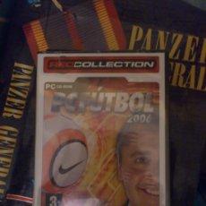 Videojuegos y Consolas: JUEGO DE PC ANTIGUO PC FUTBOL 2006 SIN ESTRENAR. Lote 33591532