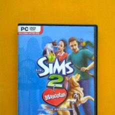 Videojuegos y Consolas: LOS SIMS 2 MASCOTAS, DISCO DE EXPANSIÓN, COMPLETO . Lote 33677005