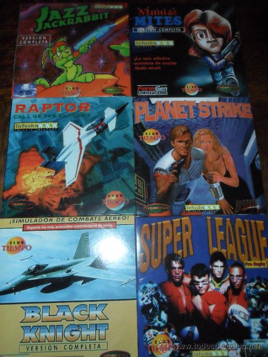 Lote De Juegos Antiguos Pc Planet Strike Comprar Videojuegos Pc