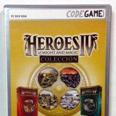 Videojuegos y Consolas: HEROES IV OF MIGHT AND MAGIC COLECCION - TOTALMENTE EN CASTELLANO.. Lote 34622494