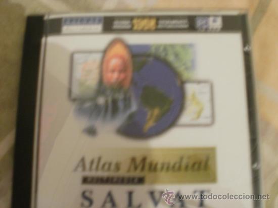 CDROM ATLAS MUNDIAL SALVAT - CON LIBRETA DE INSTRUCCIONES (Juguetes - Videojuegos y Consolas - PC)