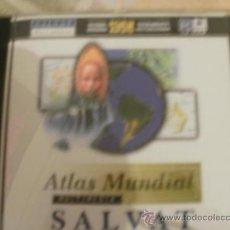 Videojuegos y Consolas: CDROM ATLAS MUNDIAL SALVAT - CON LIBRETA DE INSTRUCCIONES. Lote 34694128