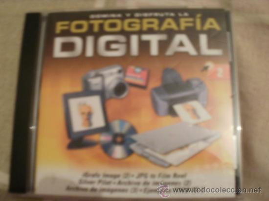 CDROM FOTOGRAFIA DIGITAL PROGRAMA (Juguetes - Videojuegos y Consolas - PC)