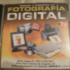 Videojuegos y Consolas: CDROM FOTOGRAFIA DIGITAL PROGRAMA. Lote 34694154