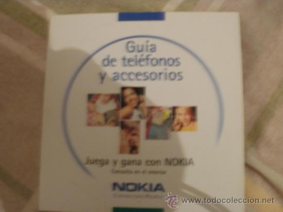 CDROM GUIA DE TELEFONOS Y ACCESORIOS (Juguetes - Videojuegos y Consolas - PC)