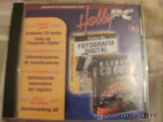 CDROM HOBBY PC TALLER FOTOGRAFIA Y GRABADOR CD AUDIO (Juguetes - Videojuegos y Consolas - PC)