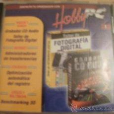 Videojuegos y Consolas: CDROM HOBBY PC TALLER FOTOGRAFIA Y GRABADOR CD AUDIO. Lote 34694168