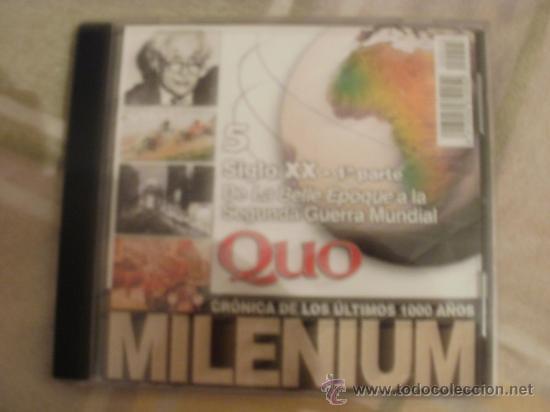 CDROM NUMERO 5 QUO MILLENIUM CRONICA DE LOS ULTIMOS 1000 AÑOS (Juguetes - Videojuegos y Consolas - PC)