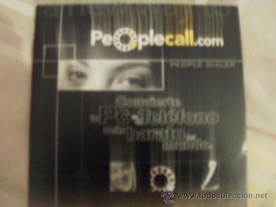 CDROM PEOPLE CALL ANTIGUO PROGRAMA TELEFONO DESDE EL ORDENADOR (Juguetes - Videojuegos y Consolas - PC)