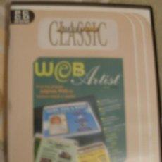 Videojuegos y Consolas: CDROM PROGRAMA WEB ARTIST PROGRAMA PARA DISEÑAR PAGINAS WEB. Lote 34694205