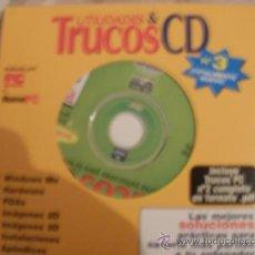 Videojuegos y Consolas: CDROM UTILIDADES Y TRUCOS ORDENADOR. Lote 34694207