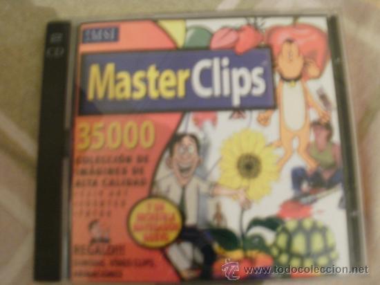 MASTER CLIPS CON 35000 IMAGENES PARA PUBLICAR EN WEBS CON 2 CDROMS (Juguetes - Videojuegos y Consolas - PC)