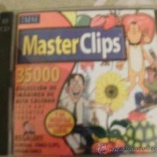 Videojuegos y Consolas: MASTER CLIPS CON 35000 IMAGENES PARA PUBLICAR EN WEBS CON 2 CDROMS. Lote 34694331