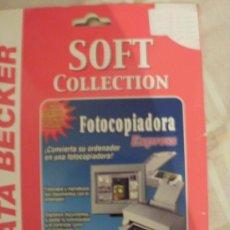 Videojuegos y Consolas: SOFT COLECTION FOTOCOPIADORA EXPRESS PROGRAMA PARA ESCANERS --REFM4E1. Lote 34694368