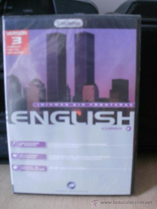 CDROM CURSO INGLES IDIOMAS SIN FRONTERAS ENGLISH VOLUMEN 3 CURSO 2 (Juguetes - Videojuegos y Consolas - PC)