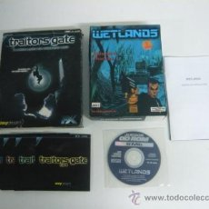 Videojuegos y Consolas: 2X1 TRAITORS GATE + WETLANDS - JUEGO DE PC - CLÁSICO - / CAJA DE CARTÓN / CAJA GRANDE. Lote 34858894