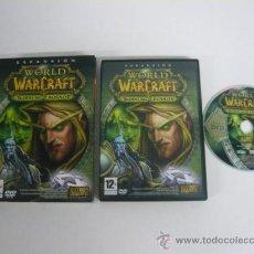 Videojuegos y Consolas: WORLD OF WARCRAFT BURNING CRUSADE - JUEGO DE PC - CLÁSICO - / . Lote 128183368