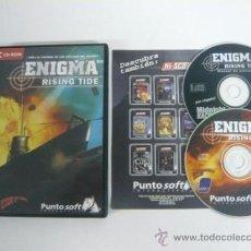 Videojuegos y Consolas: ENIGMA RISING TIDE - JUEGO DE PC - CLÁSICO - / . Lote 34911910