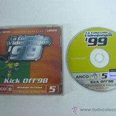 Videojuegos y Consolas: KICK OFF 98 - JUEGO DE PC - CLÁSICO . Lote 35154804