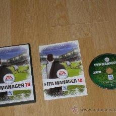 Videojuegos y Consolas: FIFA MANAGER 10 COMPLETO PC PAL ESPAÑA. Lote 35038664