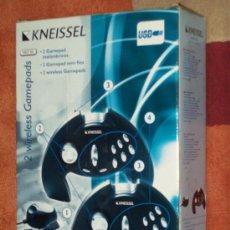 Videojuegos y Consolas: MANDOS INALAMBRICOS KNEISSEL KWGP 100. Lote 35204117
