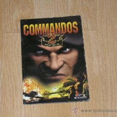 Videojuegos y Consolas: COMMANDOS 2 PC MANUAL DE INSTRUCCIONES PAL ESPAÑA CASTELLANO. Lote 35229201