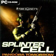 Videogiochi e Consoli: TOM CLANCY'S SPLINTER CELL PANDORA TOMORROW [PC ESPAÑA]. Lote 35340864