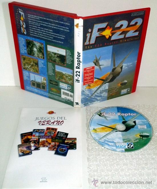 Juego Pc Simulacion I F22 Raptor Windows 98 Comprar Videojuegos