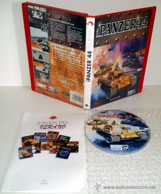 Juego Pc Simulacion I Panzer 44 Windows 98 Comprar Videojuegos Pc