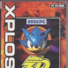 Videojuegos y Consolas: JUEGO PC. SONIC 3D XPLOSIV. FLICKIES ISLAND. Lote 155966180