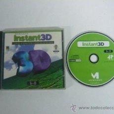 Videojuegos y Consolas: INSTANT 3D - PROGRAMA PARA AÑADIR ANIMACIONES 3D A TUS DOCUMENTOS / PROGRAMAS PC. Lote 122417000