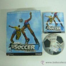 Videojuegos y Consolas: TOTAL SOCCER 2000 / FUTBOL / / CAJA CARTÓN / CLÁSICO. Lote 36474017