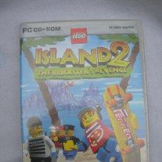 Videojuegos y Consolas: JUEGO PARA PC - ISLAND 2 DE LEGO. Lote 36541960