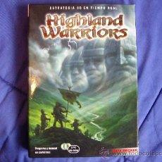 Videojuegos y Consolas: HIGHLAND WARRIORS - PC - 1ª EDICIÓN ESPAÑOLA EN CAJA DE CARTÓN - COMPLETO. Lote 36633151