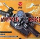 Videojuegos y Consolas: MANILLAR MOTO MOTORBIKE USB PC WINDOWS 98/2000/XP/PROBADO EN W7 Y EN ALGUNAS CONSOLAS, NUEVO. Lote 161318388