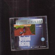Videojuegos y Consolas: LA COLECCION DE VIDEOJUEGOS 2000 , TOYLAND RACING 2 , JUEGO PARA PC. Lote 37343283