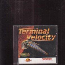 Videojuegos y Consolas: TERMINAL VELOCITY , JUEGO PARA PC. Lote 37343551