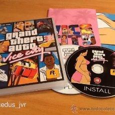Videojuegos y Consolas: GRAND THEFT AUTO GTA VICE CITY PARA PC ORDENADOR DISCO CD DVD SALCEDUS_JVR SALCEDUS VERSIÓN ESPAÑOLA. Lote 26908269